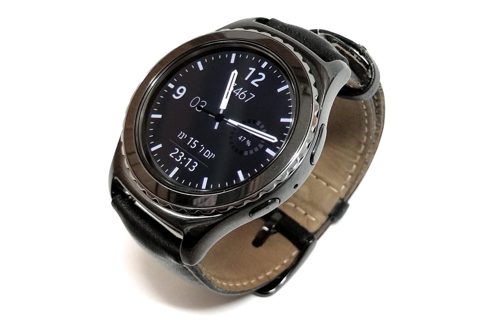 מודרני חפיצים: כזה ניסיתי: Samsung Gear S2 YI-14