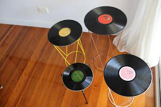 DIY Record Tables