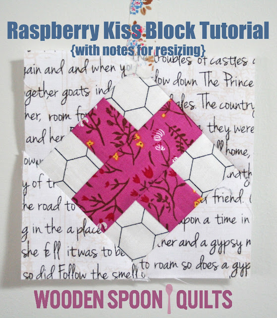 Raspberry Kiss Block Tutorial