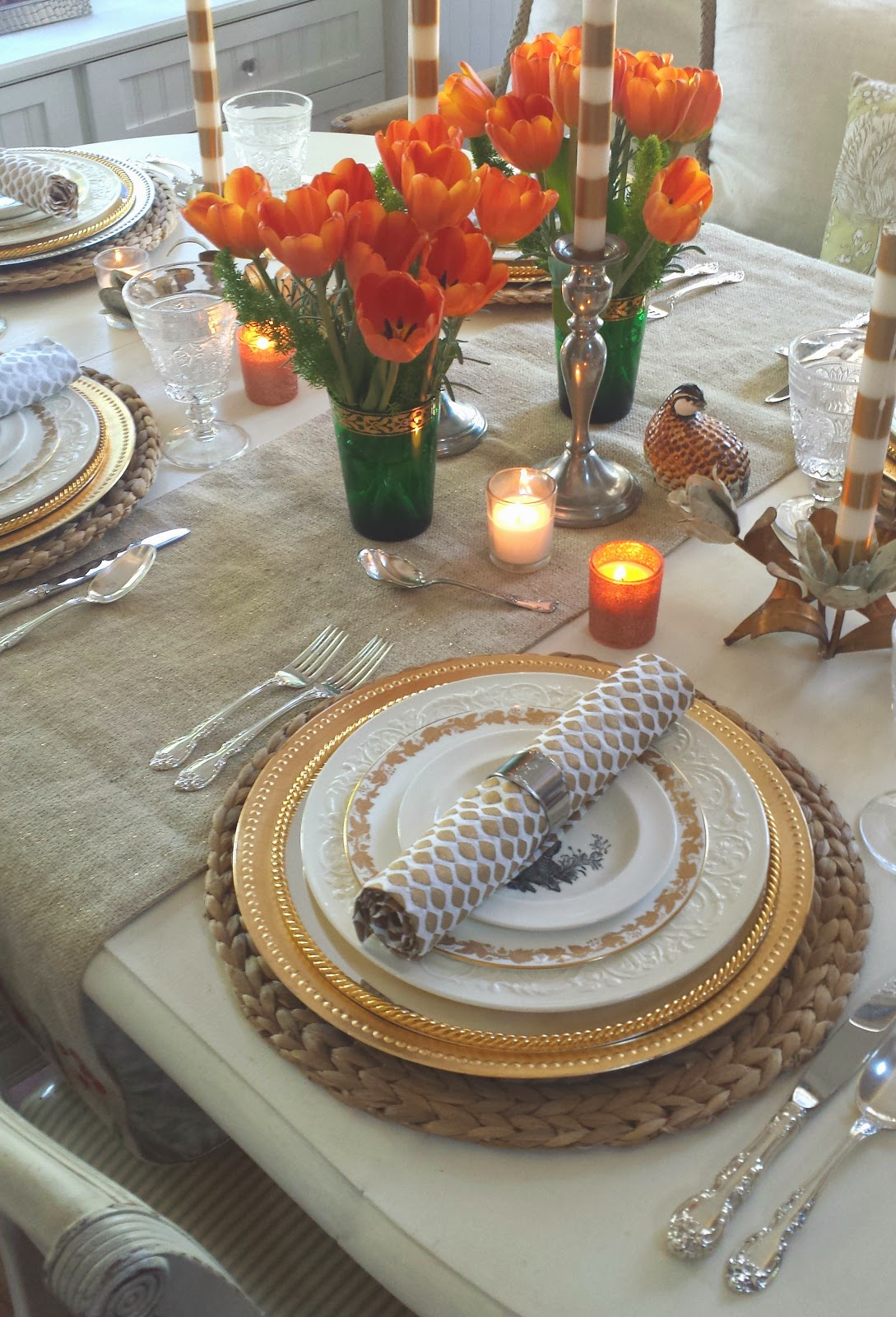 Ciao Newport Beach My Thanksgiving Table Is All Set