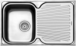 Harga Wastafel Cuci Piring Modena Stainless Steel Minimalis Anti Karat terbaru