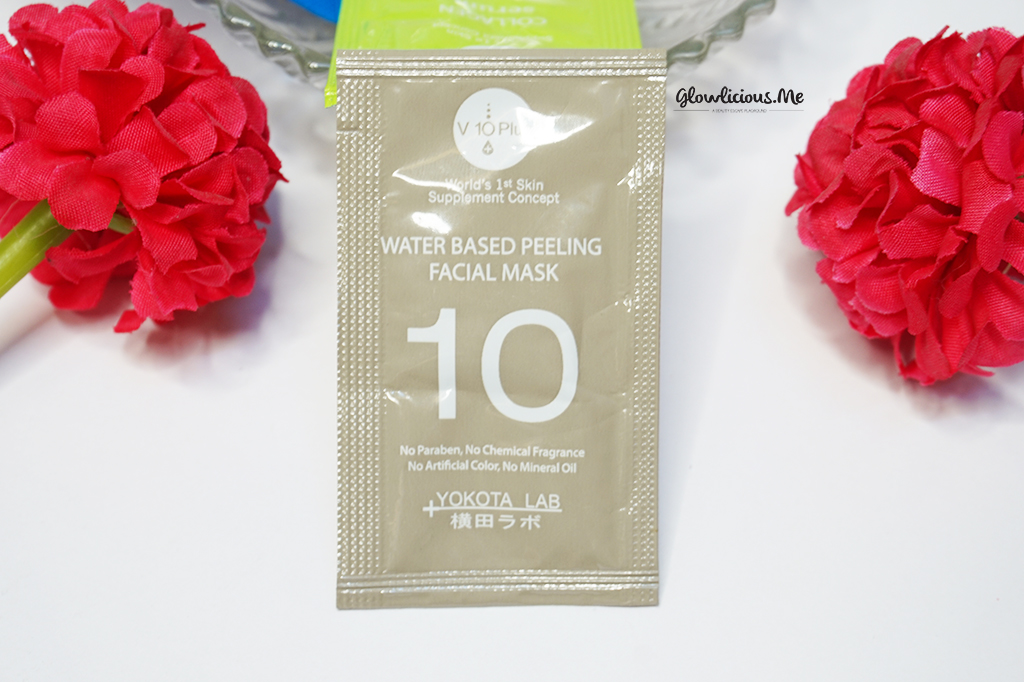V10Plus Water Based Peeling Facial Mask ( 10 Sachets x 2ml) | Rp. 270.000|
