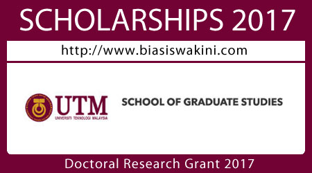 Doctoral Research Grant 2017