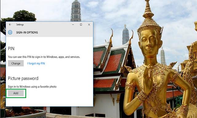 ubah password gambar