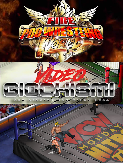 Fire Pro Wrestling World recensione
