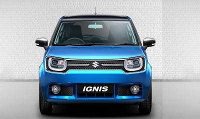2017 Maruti Ignis front profile