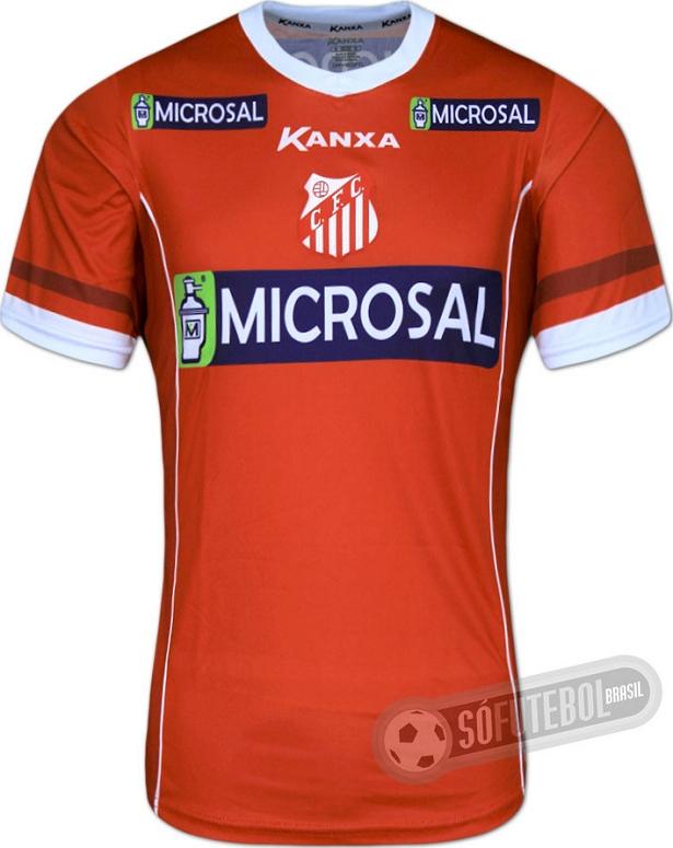 247bebd118 Kanxa divulga novas camisas do Capivariano. A fabricante de material  esportivo ...