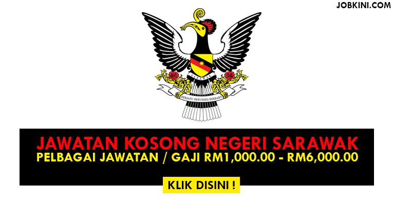 Jawatan Kosong Terkini di Negeri Sarawak