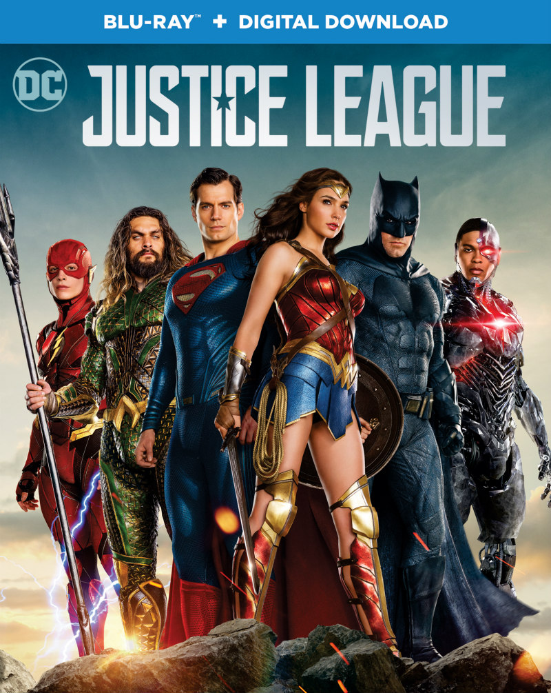 justice league uk blu-ray
