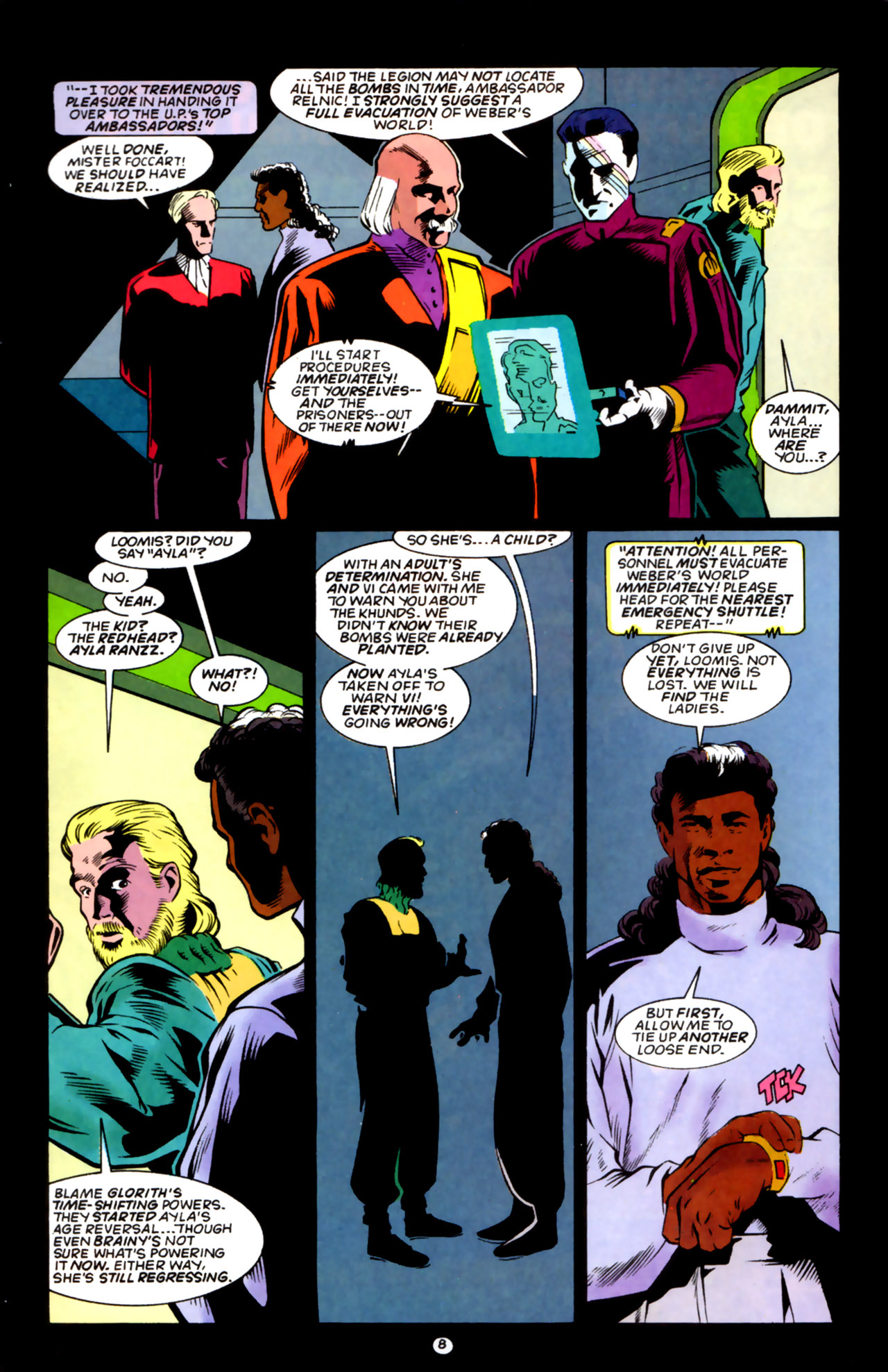 Legion of Super-Heroes (1989) 59 Page 8