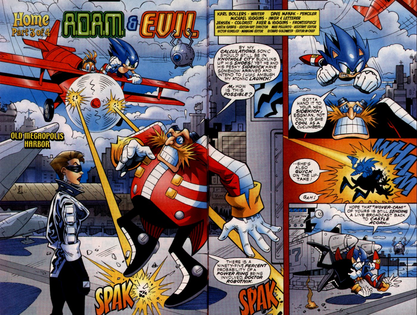 Read online Sonic The Hedgehog comic -  Issue #132 - 3
