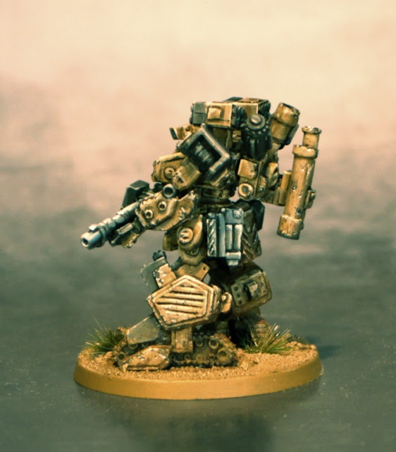 Grizzly for Heavy Gear Blitz painted by Fire Broadside