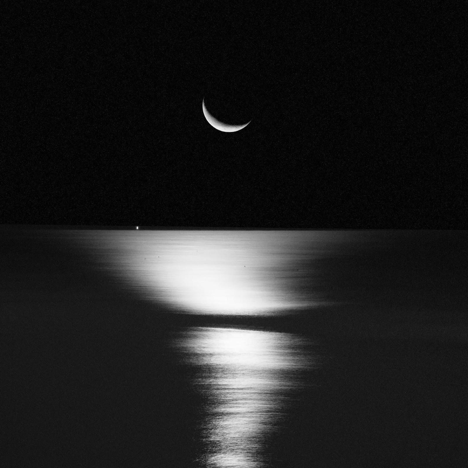Moonrise rockport maine 2012