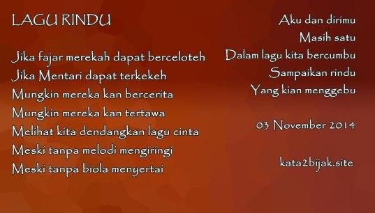Kumpulan puisi bahasa Indonesia tentang cinta