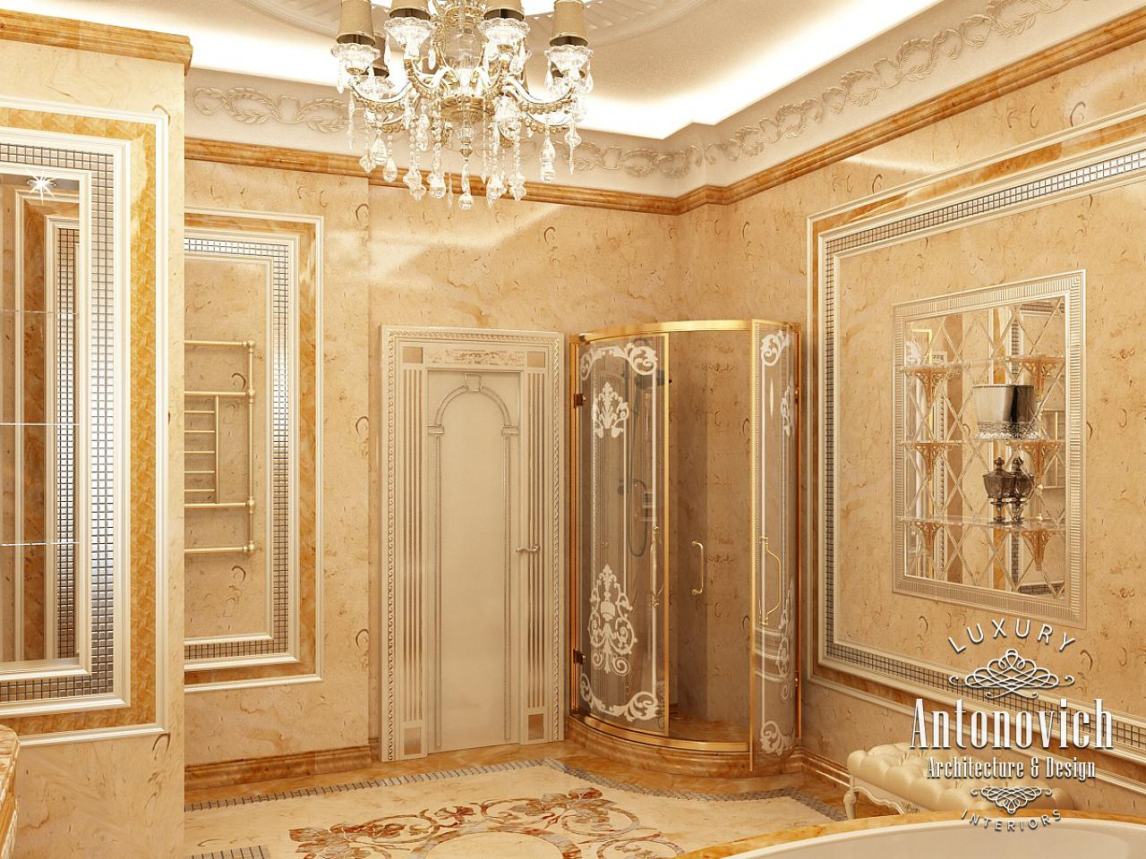 Luxury antonovich design uae bathroom design dubai for Bathroom interior design dubai