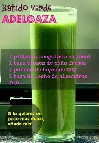 DIETA ACELERADA - PLÁTANO & KALE