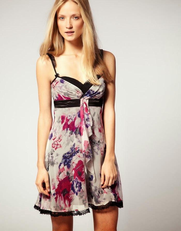 e3f3208eea3c Women-Evening-Dresses-New-Fashion-Floral-Print-Strap-Cocktail-Party-Dress -Lace-Silk-Dresses