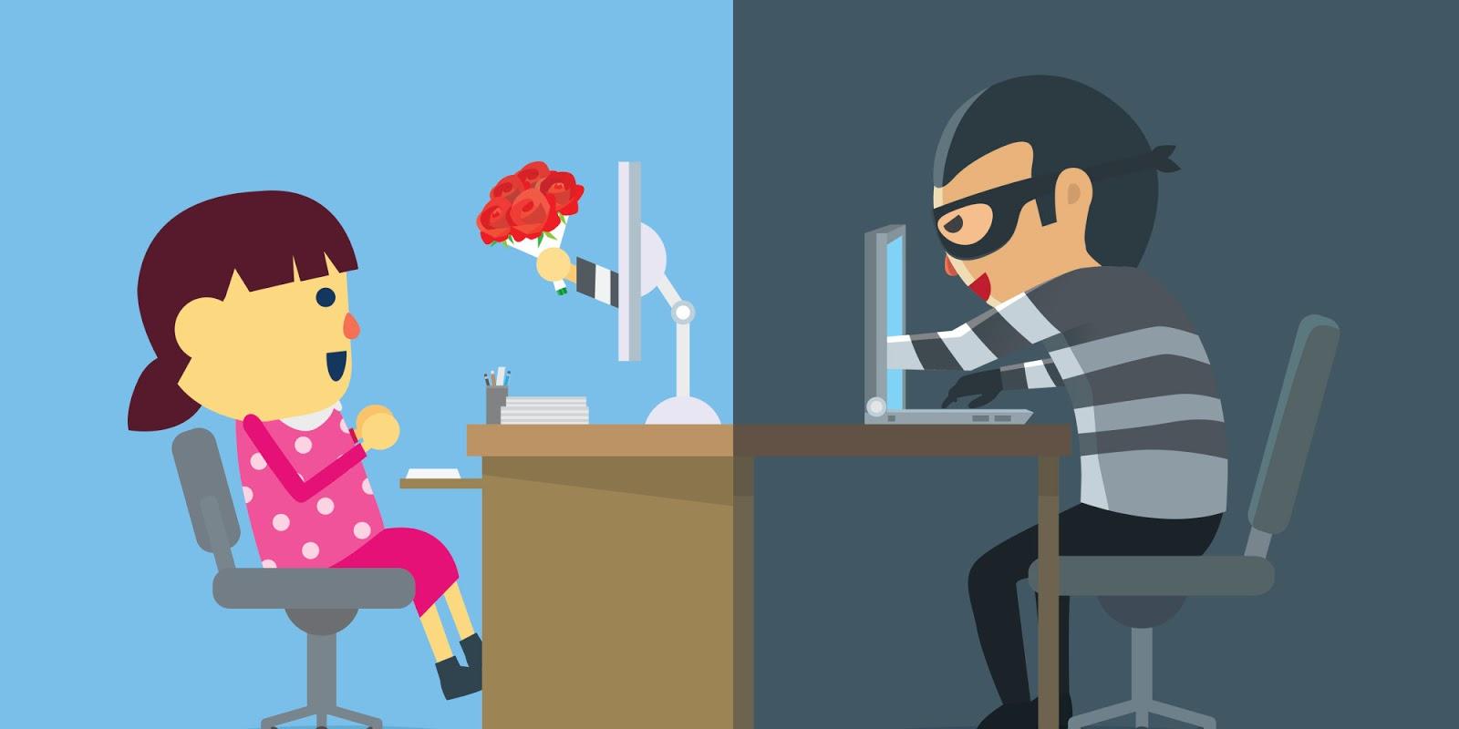 The hazards of online dating