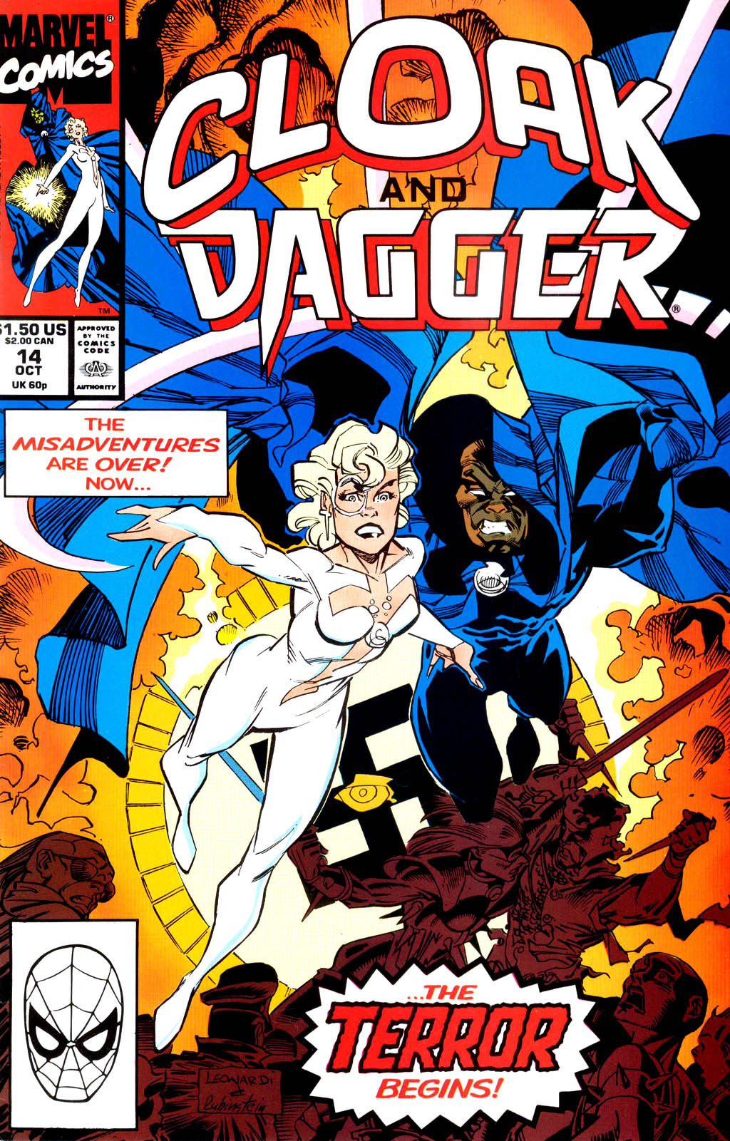 Cloak and Dagger (1990) 14 Page 1