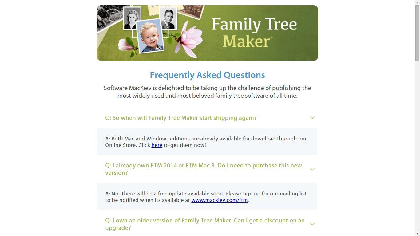 Genea-Musings: Family Tree Maker is Updated and Shipping Now