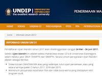 TOP SOAL UJIAN MANDIRI UNIVERSITAS DIPONEGORO (UNDIP) 2007-2016 Terlengkap