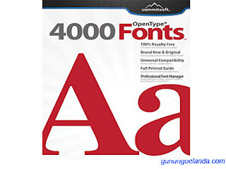 Summitsoft Creative Fonts 4000 V1.0.0 Free Download Full Version Setup