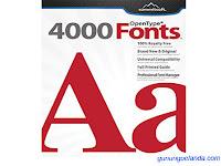 Summitsoft Creative Fonts 4000 V1.0.0 Free Download Full Version Setup