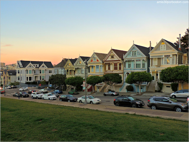 Painted Ladies desde Alamo Square