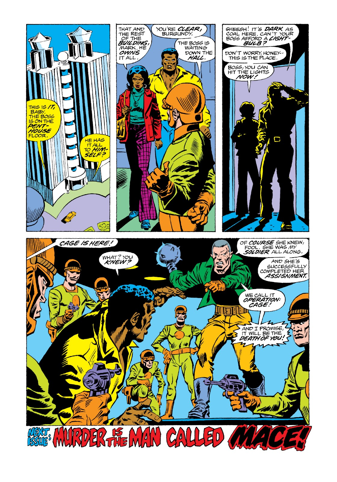 Read online Marvel Masterworks: Luke Cage, Power Man comic -  Issue # TPB 3 (Part 3) - 44
