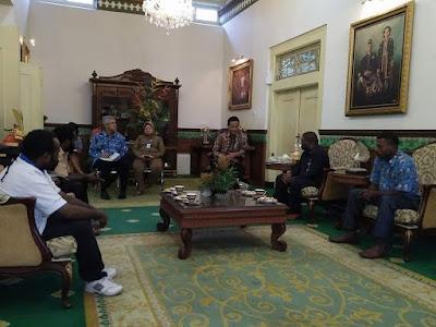 Hasil Pertemuan DPR Papua dengan Sultan di Yogyakarta