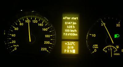 Consumo gasóleo mercedes Viano W639 V6 3.0 CDI a 100 Km/h