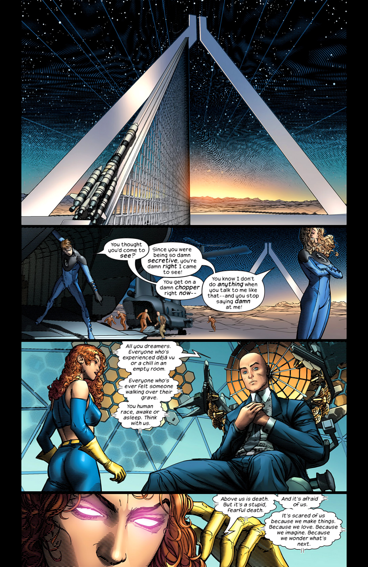 Read online Ultimate Extinction comic -  Issue #5 - 11
