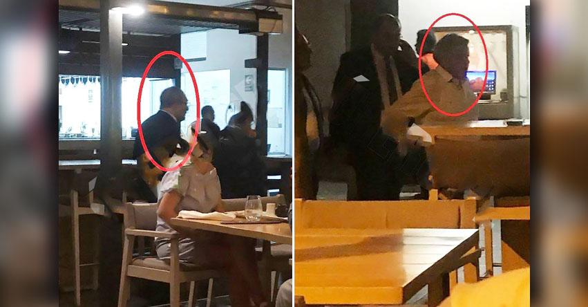 POLÉMICA: Ministro Educación Idel Vexler tuvo una reunión informal con dueño de la UCV, César Acuña, en un restaurante de Barranco [FOTOS]