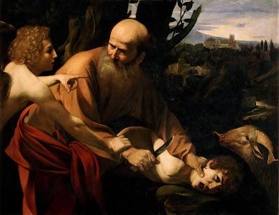 [[File:Sacrifice of Isaac-Caravaggio (Uffizi).jpg|thumb|Sacrifice of Isaac-Caravaggio (Uffizi)]]