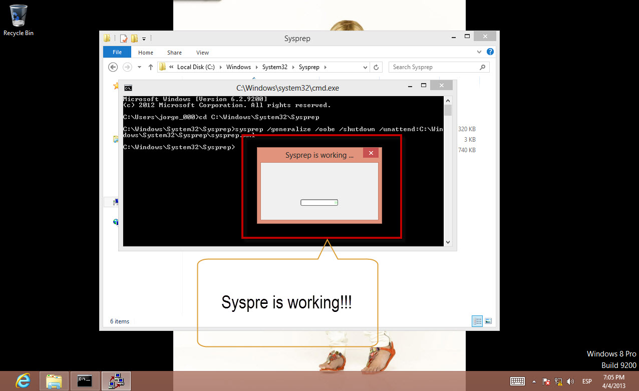 How to make an unattended Sysprep for Windows (with  xml