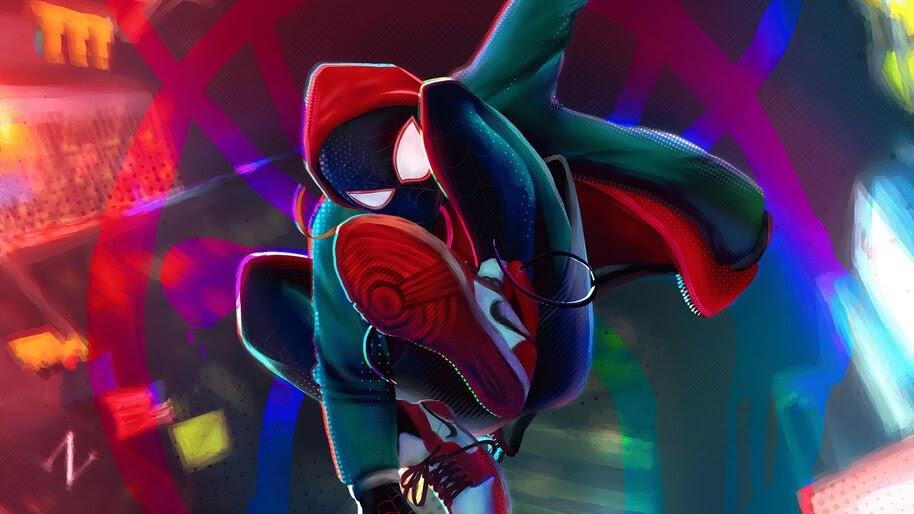 Miles Morales, Spider-Man, Art, 4K, #6.2132