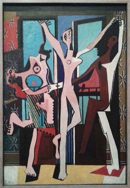 picasso the three dancers