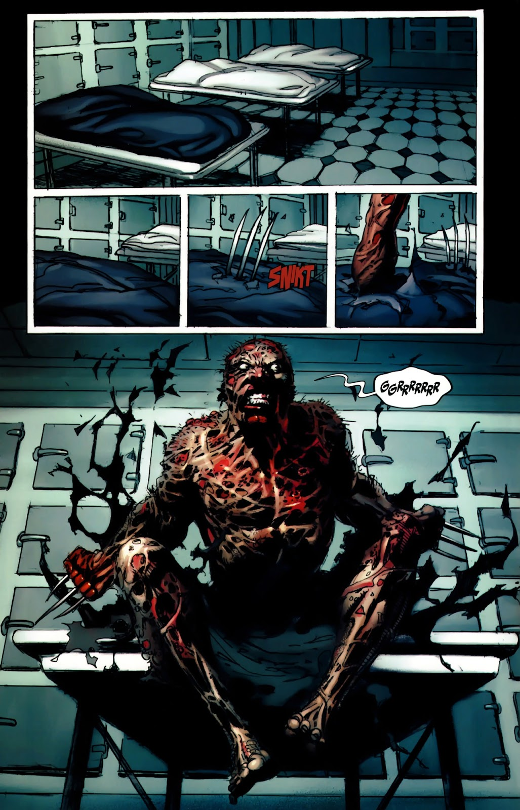 Read online Wolverine (2003) comic -  Issue #64 - 11