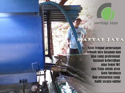 Jasa Tinja dan Sedot WC Kalianak Surabaya