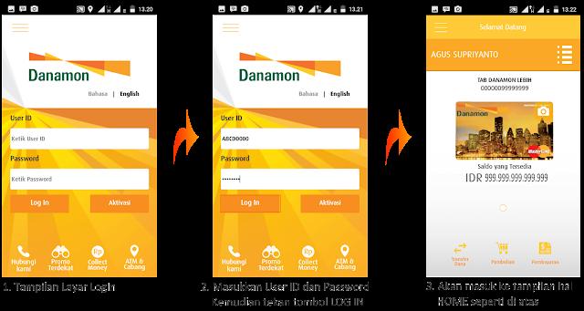 Agus Supriyanto's Blog: Cara Aktivasi Danamon Mobile Banking