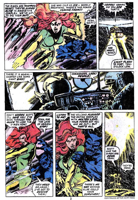 X-men v1 #114 marvel comic book page art by John Byrne