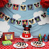 DIY How to Decorate a Table Cake for Mickey Mouse Clubhouse Themed Parties.