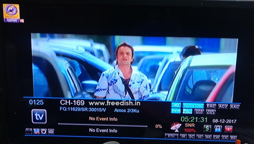 DD National HD channel added in DD Free Dish DTH