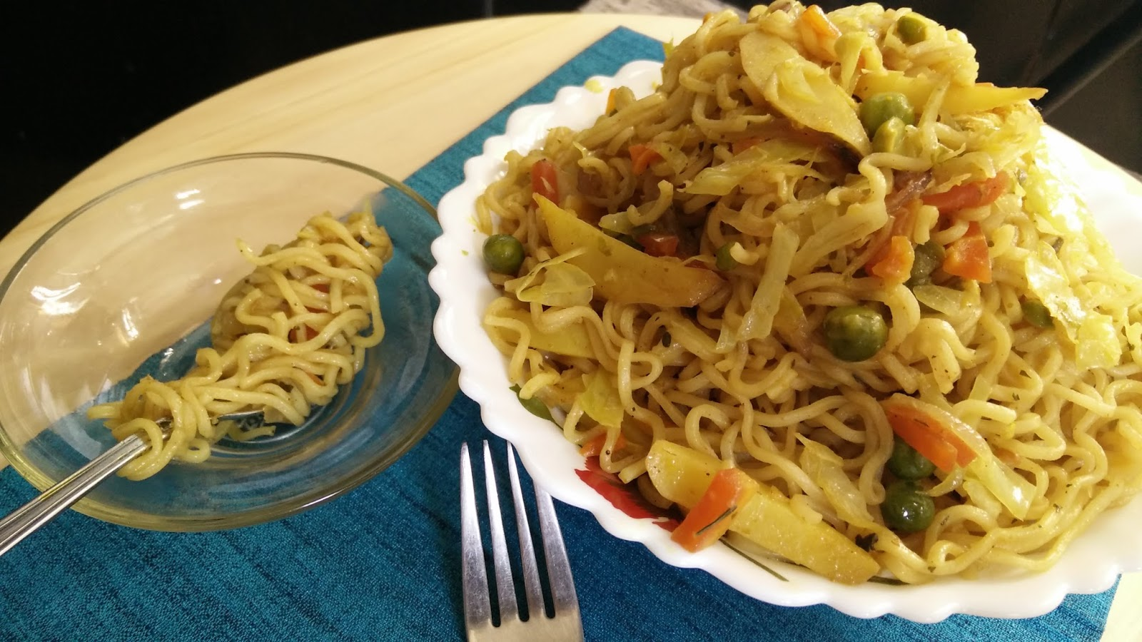how to cook vegetable maggi