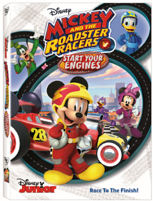 Mickey And The Roadster Racers Start Your Engines 2017 DVD R1 NTSC Latino