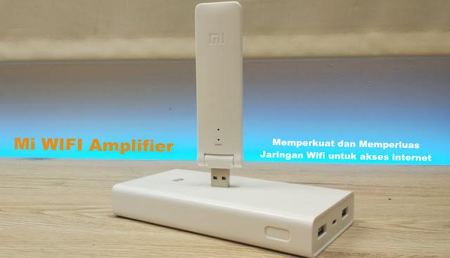 Jaringan Wifi Lemah, Perkuat dengan Mi Wifi Amplifier Mungil ini!