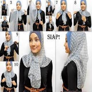 model jilbab pesta pashmina