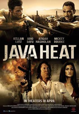 "Cover Flm produksi Rob Allyn ini berjudul ""Java Heat"" Pemain Atiqah Hasiholan"