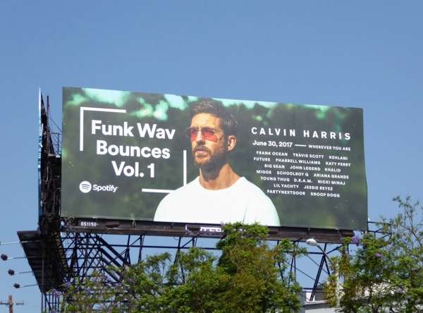 Calvin Harris Funk Wav Bounces Spotify billboard