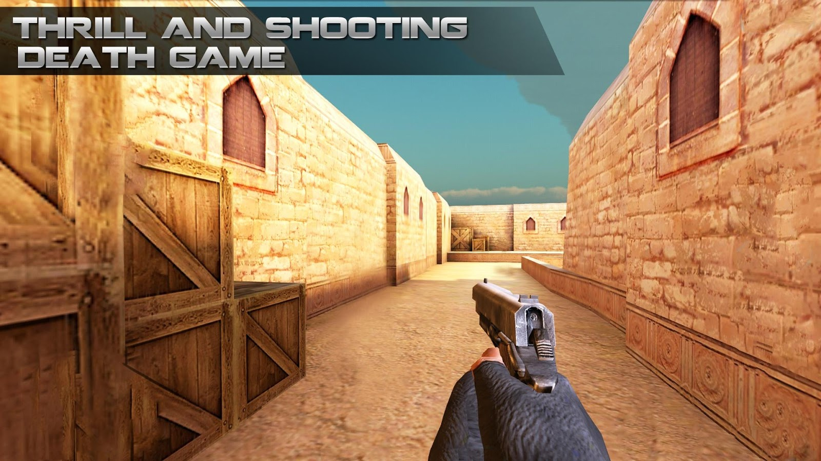 Counter Terrorist Smart Shooting MOD APK terbaru